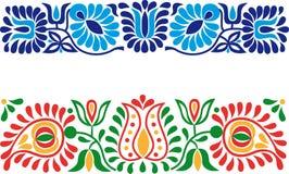 Фольклорные орнаменты иллюстрация вектора