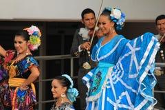 Фольклорные танцоры 1 Стоковые Изображения RF