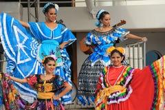 Фольклорные танцоры 3 Стоковое Изображение RF