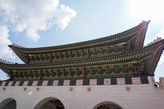 фольклорный дворец соотечественника музея Кореи gyeongbokgung Стоковое Фото