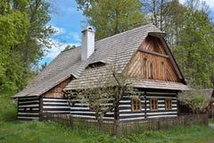 Фольклорный музей Vesely Kopec в чехии Стоковое фото RF
