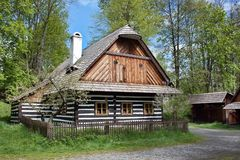 Фольклорный музей Vesely Kopec в чехии Стоковая Фотография RF