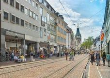 ФРАЙБУРГ IM BREISLAU, GERMANY-JUNE 25,2015 Стоковое Фото