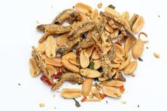 Фрай камсы арахиса Стоковая Фотография RF