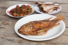 Фрай рыб стоковая фотография