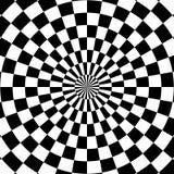 фрактали цветка конструкции карточки предпосылки белизна плаката ogange черной хорошая Стоковая Фотография RF