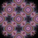 Фракталь; Квадраты бабушки в космосе иллюстрация штока
