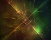Фракталь конспекта цифровая живая, динамика творческих способностей  иллюстрация вектора