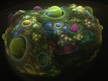 фракталь коралла Стоковые Фотографии RF