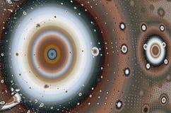Фракталь: Много кругов иллюстрация штока