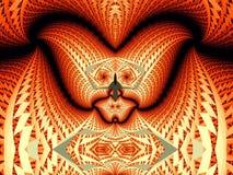 фракталь стороны дьявола Стоковая Фотография