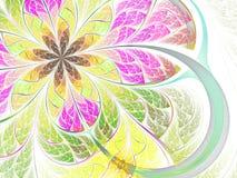 фракталь цветка бабочки Стоковое Изображение RF