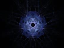 фракталь цветка блестящая Стоковая Фотография