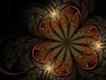 фракталь цветка мягкая Стоковое Изображение
