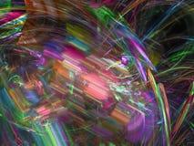 Фракталь цифров абстрактная, графический дизайн текстуры, фантазия картины, праздничная стоковое изображение rf