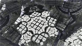 Фракталь 3d Абстрактным произведенный компьютером дизайн фрактали иллюстрация штока