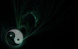 фракталь yang ying Стоковое фото RF