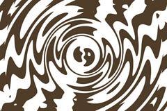 фрактали цветка конструкции карточки предпосылки белизна плаката ogange черной хорошая Стоковое Фото
