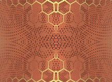 Фракталь 4 делает абстрактный геометрический перевод composition-3d Стоковое Изображение RF