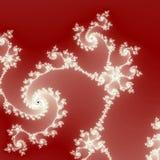 Фракталь лед-цветков конспекта Стоковое Фото