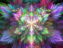 Фракталь красочная Стоковое фото RF