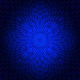 Фракталь предпосылки абстрактная голубая Иллюстрация вектора