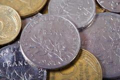франки французские стоковые изображения