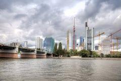 Франкфурт-на-Майне, городской пейзаж Стоковое Изображение RF