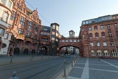 Франкфурт Altstadt, Германия Стоковые Изображения RF