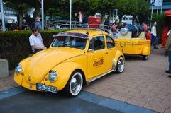 ФРАНКФУРТ - SEPT. 21: Кока-кола жука Vokswagen представленная как wor Стоковая Фотография RF