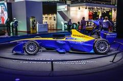 ФРАНКФУРТ - SEPT. 2015: Формула e Renault представленная на интерне IAA Стоковая Фотография