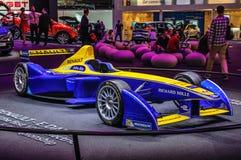 ФРАНКФУРТ - SEPT. 2015: Формула e Renault представленная на интерне IAA Стоковое Изображение RF