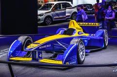 ФРАНКФУРТ - SEPT. 2015: Формула e Renault представленная на интерне IAA Стоковые Изображения