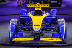 ФРАНКФУРТ - SEPT. 2015: Формула e Renault представленная на интерне IAA Стоковая Фотография RF