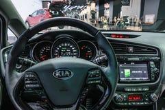 ФРАНКФУРТ - SEPT. 2015: Kia ceed sw GT представленный на IAA Internati Стоковое Изображение