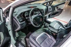 ФРАНКФУРТ - SEPT. 2015: Kia ceed sw GT представленный на IAA Internati Стоковая Фотография RF