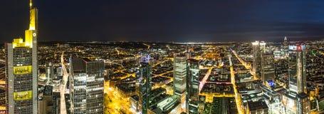 Франкфурт Skycrapers стоковое изображение