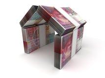 Франк концепции недвижимости швейцарский бесплатная иллюстрация