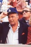 Франк Синатра на игре Dodgers стоковая фотография