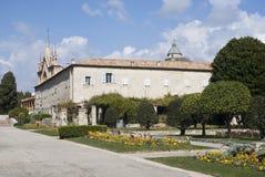 Францисканские церковь и монастырь Cimiez Франция славная Стоковые Фотографии RF