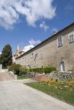 Францисканские церковь и монастырь Cimiez Франция славная Стоковое фото RF