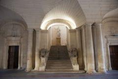 Франция, город Arles Суд ратуши Стоковые Изображения RF