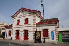 Франция, живописный город Мергельн le Roi стоковые изображения