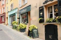 Франция, живописный город Мергельн le Roi стоковое фото