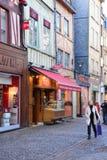 Франция, живописный город Руана в Normandie Стоковая Фотография
