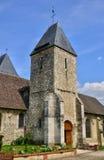 Франция, живописный город Charleval Стоковое Изображение