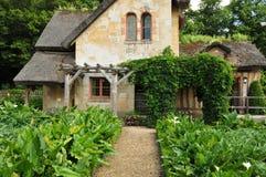 Франция, имущество Мари Antoinette в parc PA Версаль Стоковые Изображения
