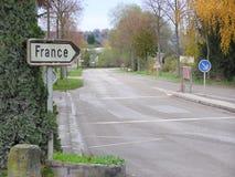 Франция к путю Стоковые Изображения RF