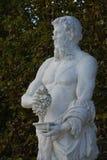 Франция, мраморная статуя в парке дворца Версаль Стоковая Фотография