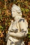 Франция, мраморная статуя в парке дворца Версаль Стоковые Изображения RF